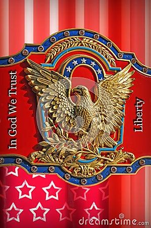 United States of America Liberty Design