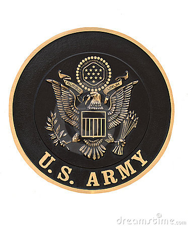 United states army emblem Editorial Stock Photo