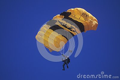 United States Army Paraglider Editorial Image