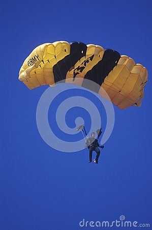 United States Army Paraglider Editorial Photography