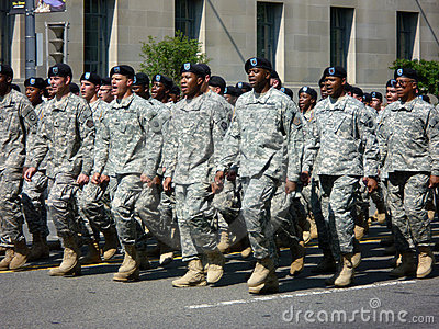 United States Army Soldiers Editorial Image