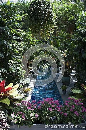 United States Botanic Garden Stock Photo