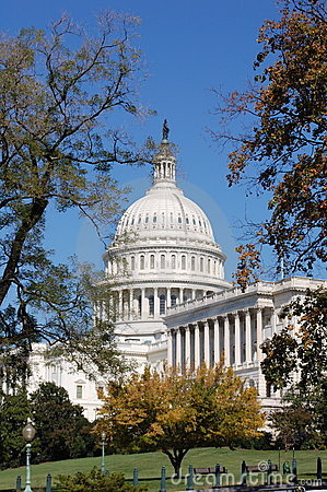 United States Capitol Building, Washington DC Editorial Image