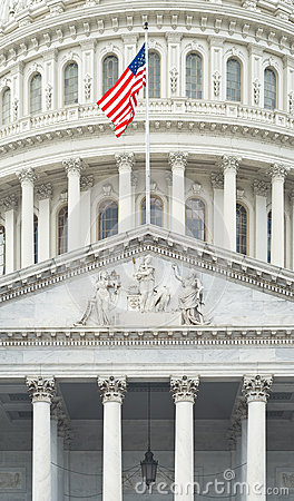 United States Capitol Detail