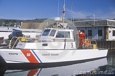 United States Coast Guard Boat Editorial Photography