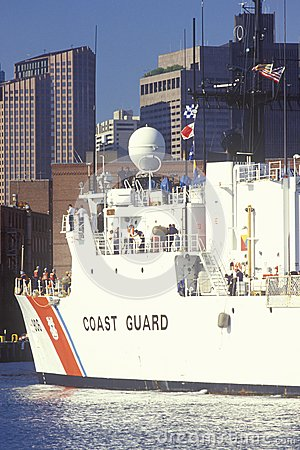United States Coast Guard Ship Editorial Photography