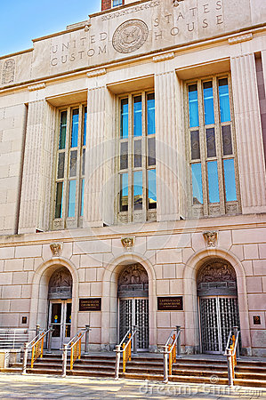 Free United States Custom House Building In Chestnut Street In Philad Royalty Free Stock Images - 72988249