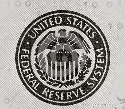 United States Federal Reserve Stock Photo Image 39891317