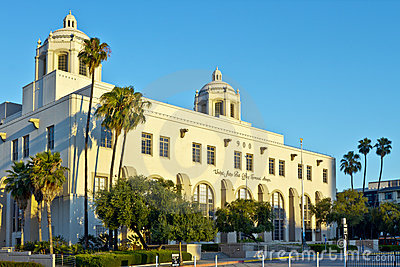 The United States Main Post Office in Los Angeles Editorial Photo