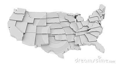United States map by states image logo high levels