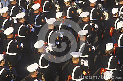 United States Marine Band Editorial Photography