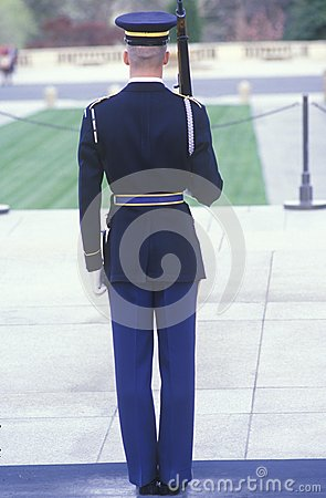 United States Marine guard Editorial Image
