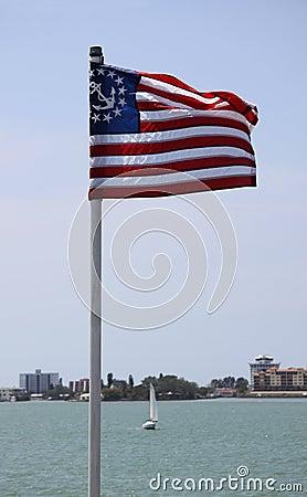 United States maritime flag