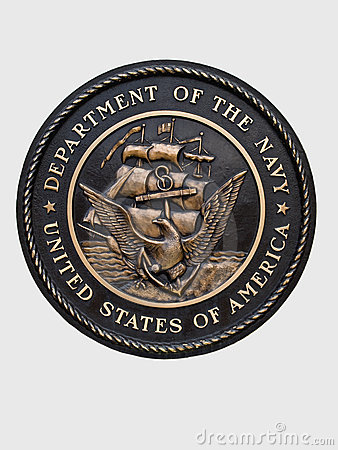 United states navy emblem Editorial Photography
