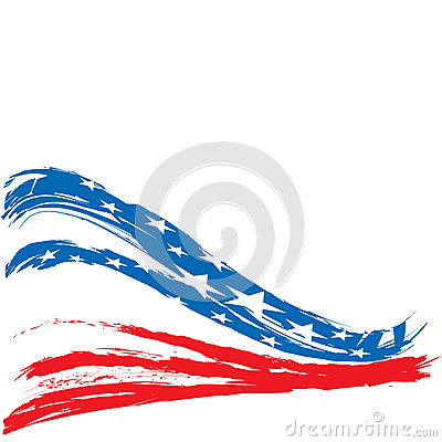 Free United States Patriotic Background Design Royalty Free Stock Images - 94402659