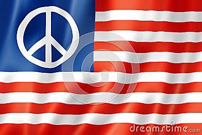 United States peace flag