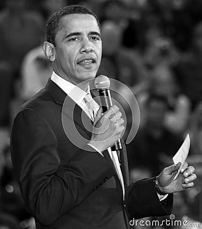 United States President Barack Obama Editorial Photo