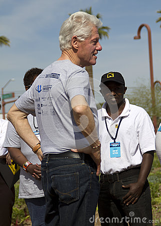 United States President Bill Clinton