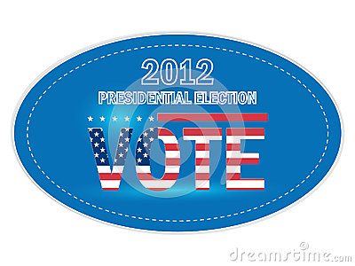 United States Presidential Election Stickers