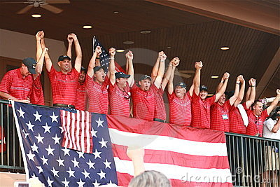 United States Ryder Cup Team Editorial Photography