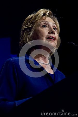 United States Secretary of State Hillary Clinton Editorial Stock Image