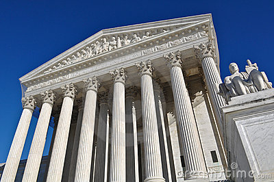 United States Supreme Court Editorial Stock Image