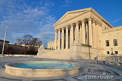 United States Supreme Court In Washington, DC Royalty Free Stock Photos - Image: 23026558