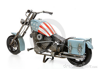United States themed Motorcycle