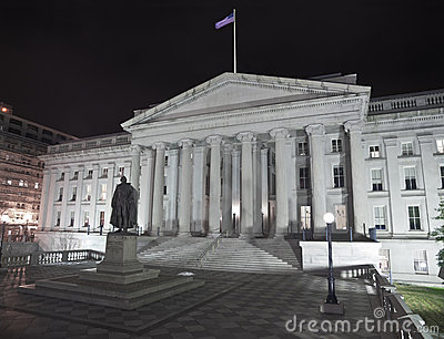 United States Treasury Building - Washingting DC