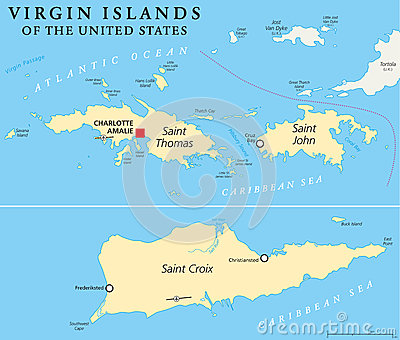 Us Virgin Islands Vector