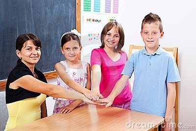 United students and teacher