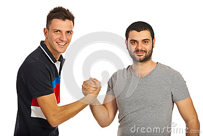 United Two Friends Guys Stock Photos - Image: 28277063