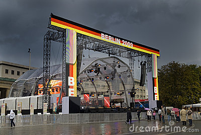Unity day main stage Editorial Stock Image