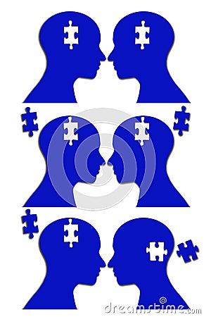 Unity jigsaw puzzle brain