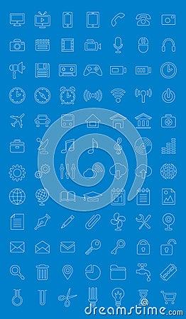 Universal icons set