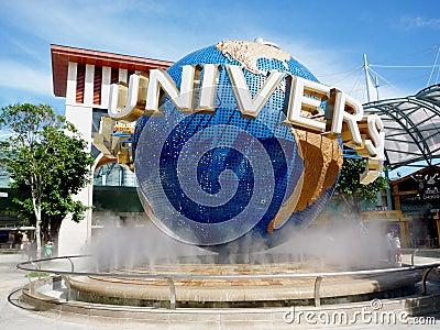 Universal Studio Singapore Editorial Image