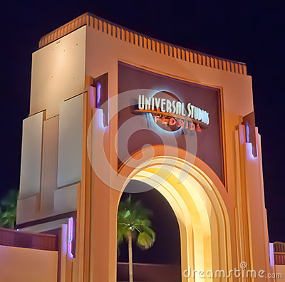 Universal Studios Florida Editorial Stock Photo