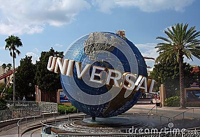 Universal Studios Globe Editorial Image