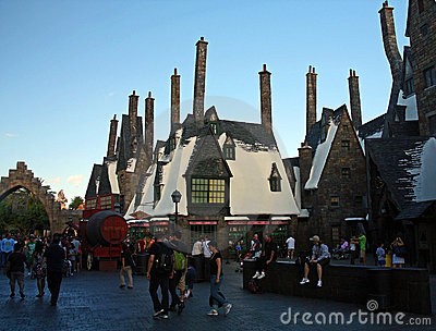 Universal Studios Harry Potter Editorial Stock Photo