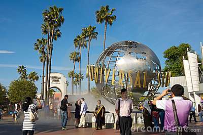 Universal Studios Hollywood Editorial Stock Image