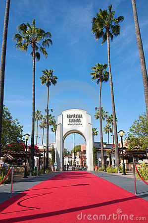 Universal Studios Hollywood Editorial Stock Photo