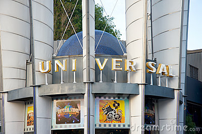 Universal Studios Hollywood store Editorial Stock Image