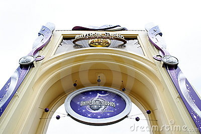 Universal Studios Japan Editorial Stock Photo