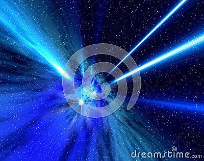 Universe rays