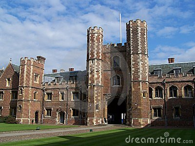 Université de rue John à Cambridge