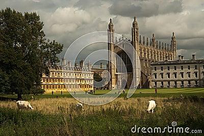 Université du roi s d université de chapelle de Cambridge