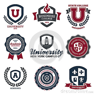 Free University And College Crests Stock Images - 31734194