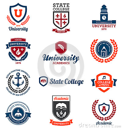 Free University And College Emblems Stock Images - 25233574