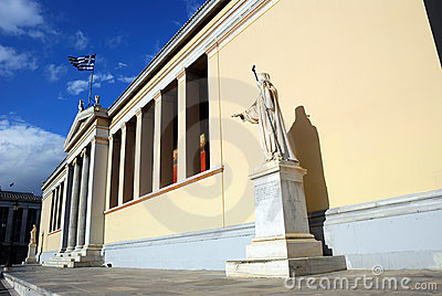 University of Athens - The Main Building (Greece)
