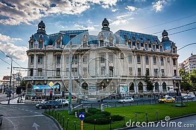 University of Bucharest Editorial Image